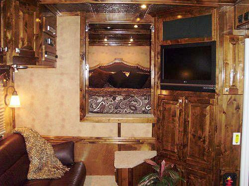 Horse Trailer Interior Horse Trailer Ideas And Dreams