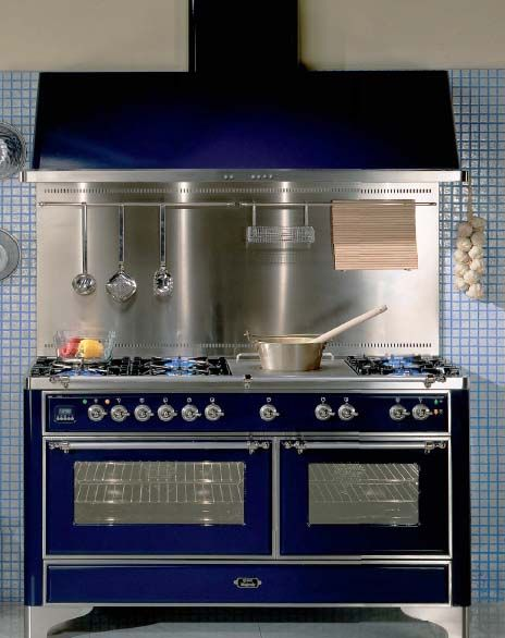 Retro kitchen design vintage stoves for modern kitchens in retro sty Kitchen design center stove
