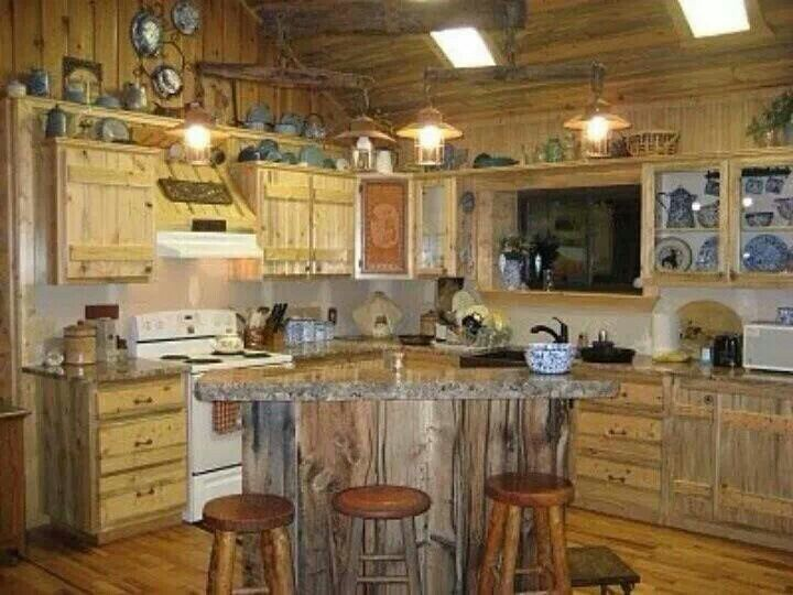 Barn wood kitchen decorating design art pinterest for Barn kitchen designs