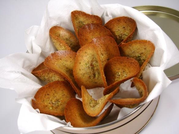 Pistachio Tuiles | Savour: Delectable Desserts | Pinterest