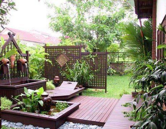 Japanese style garden design fences pinterest - Garden design japanese style ...