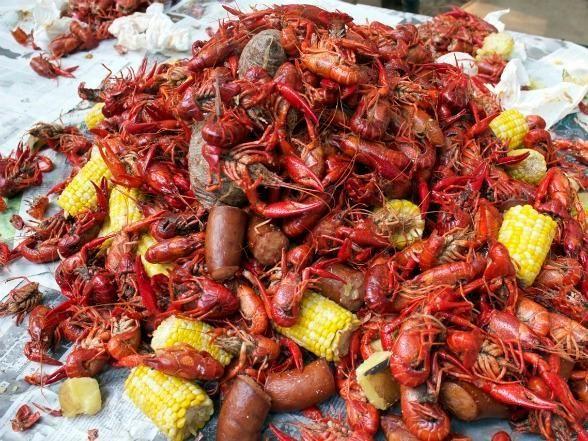 Creole: Crawfish Boil Recipe   OUR LOUISIANA CRAWFISH BOIL   Pinterest