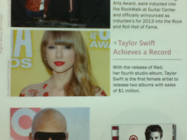 Taylor in my ye...