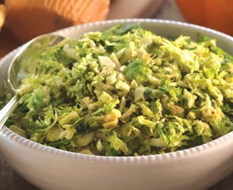 Simple Shaved Brussels Sprouts | food | Pinterest