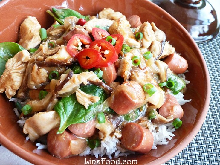 Clay Pot Chicken With Mushroom Recipe — Dishmaps