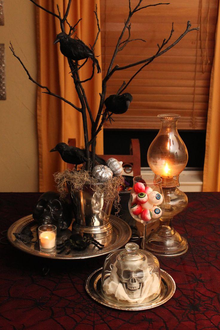 halloween: table decor ideas  Halloween  Pinterest
