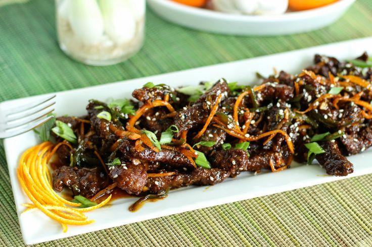 Crispy Orange Peel Beef | Dinner recipes | Pinterest