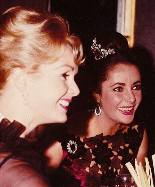Young Debbie Reynolds And Elizabeth Taylor Liz and Debbie Reynold...