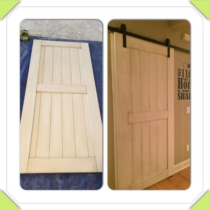 Make Your Own Barn Door Hardware Spend Less Than 250 To Build Hung Your Own Barn Door