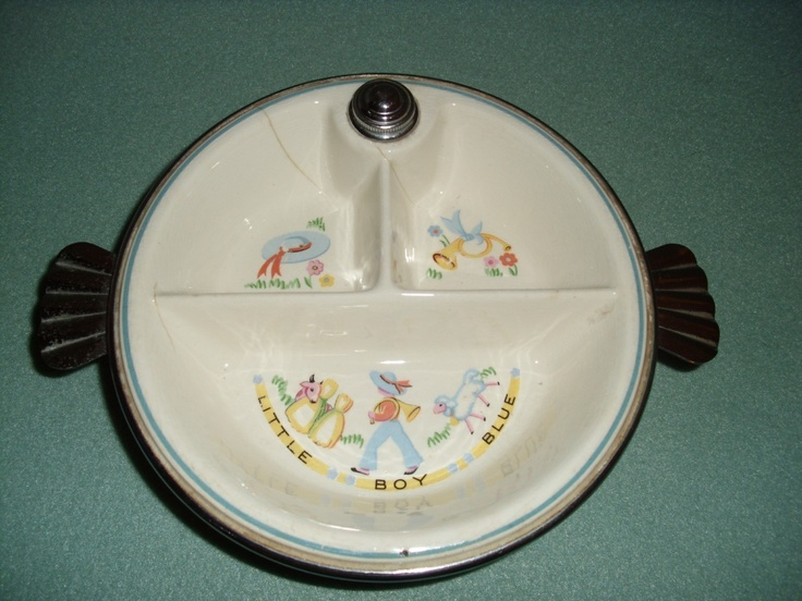 Vintage Baby Dishes 60
