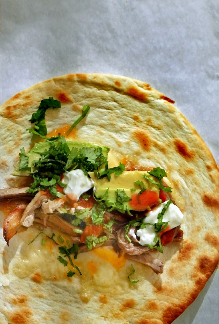 Slow cooker mexican pulled pork, also known as carnitas. Perfect for ...