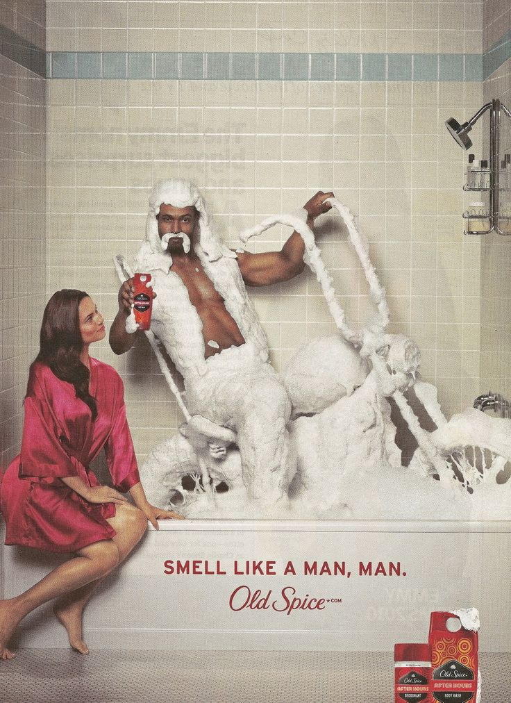 advertising the old spice ad campaign Check out old spice, a client of wieden+kennedy search login work see how saying goodbye forever—i hope to never see you again to an old friend is so much easier now with the new old spice face this campaign takes a humorous look at how the scents of old spice can turn average.