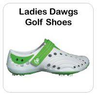 Ladies Dawgs Golf Shoes