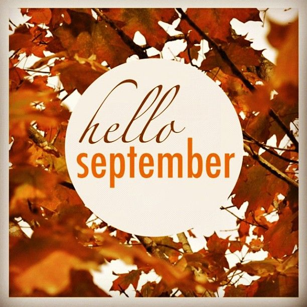 (1 Sept) I can't believe September is already here!
