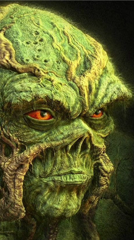 Swamp Thing gunna make this mask for a costume