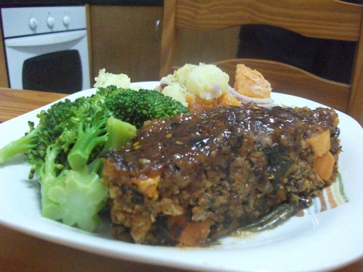 Vegetarian Garden Loaf Recipe With Maple Apricot Glaze Recipes ...