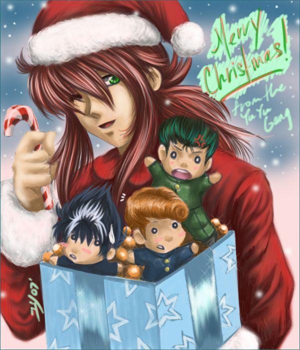 Merry yu yu christmas by yuri nikko deviantart com on deviantart