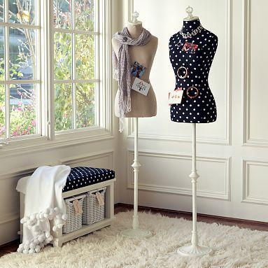 $199.00   Pb teen....dress form... I think I need the white one omg