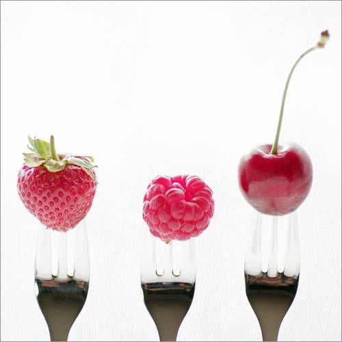 früchte gabel qua Bilder: Poster von Tanja Riedel bei Posterlounge.de