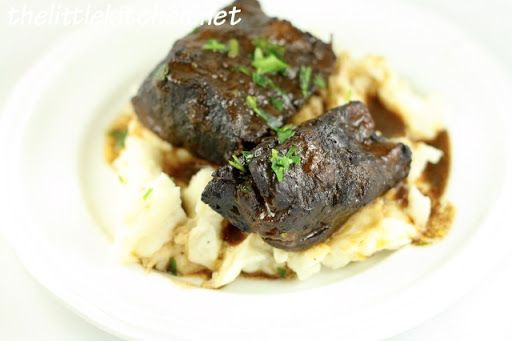 Red Wine-Braised Short Ribs Recipe | Meals | Pinterest