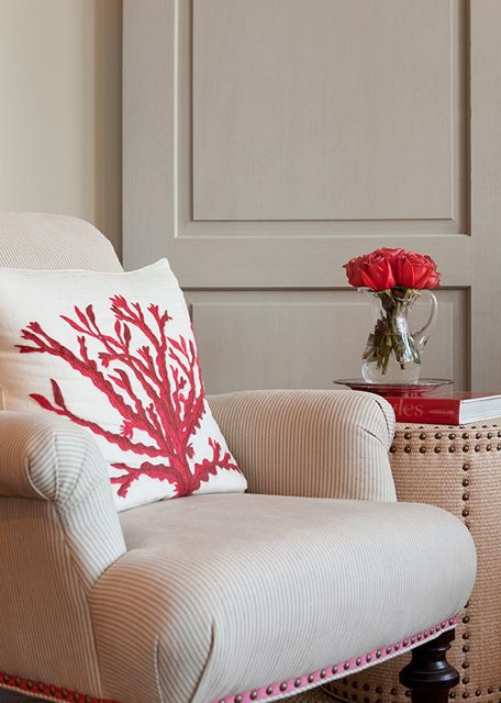 Coral pillows!