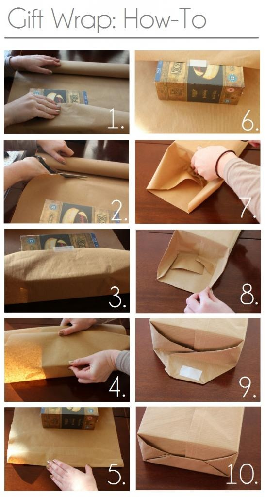 gift wrap how to christmas pinterest