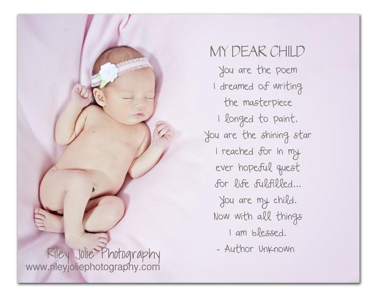 Newborn Baby Girl Poems