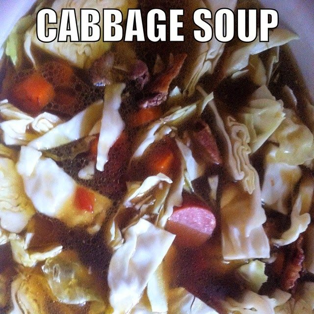 Your average yucky veggie filled soup this cabbage soup crockpot
