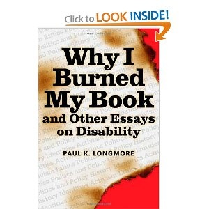 book burned disability essay i other why