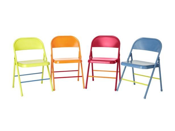 How to Colorful Folding Chairs