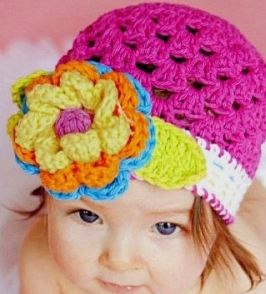 Megan Crochet Children's Hat (12-36 Months+)