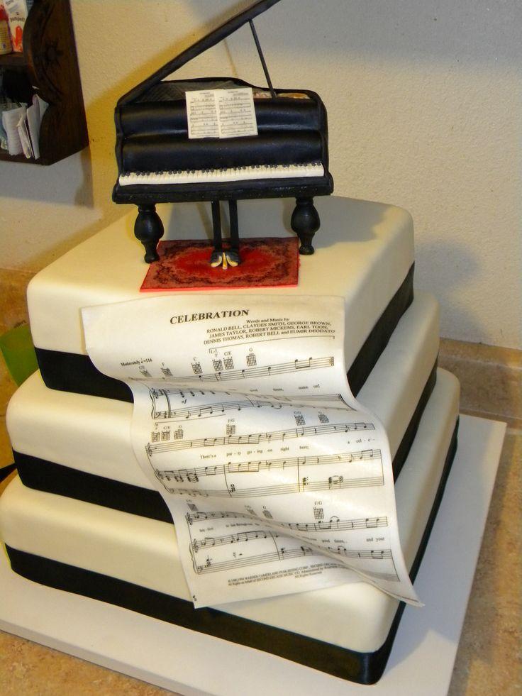 Piano Lavoro Cake Design : Piano Cake Piano Cakes Pinterest