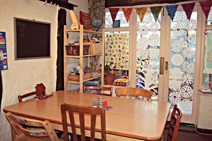 Pin by christine bennett on homeschooling pinterest for Homeschool dining room ideas