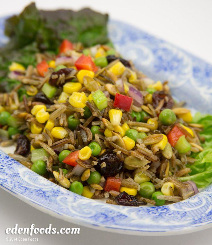 Wild Rice Salad #recipe   Food Ideas   Pinterest