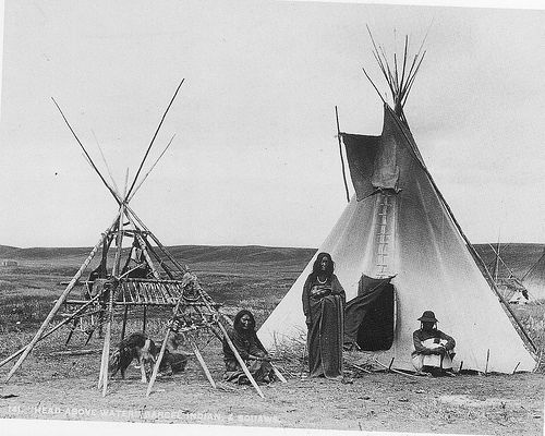 how to build a native american teepee