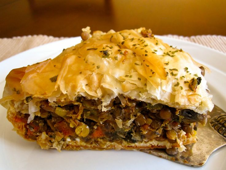Food and Whine: Moroccan Lentil Pie | delicious foodstuffs | Pinterest