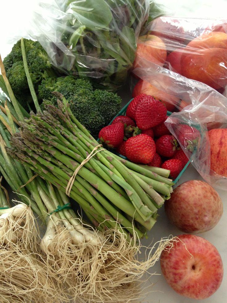 Farmers market Sunday haul | Food and Wine | Pinterest