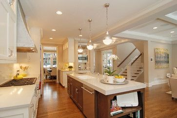 Open Kitchen Floor Plans on Kitchen   Open Floor Plan  Kitchen  Dining  Family Room