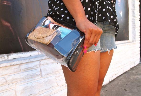 DIY: Chanel Inspired Transparent Over The Shoulder Bag