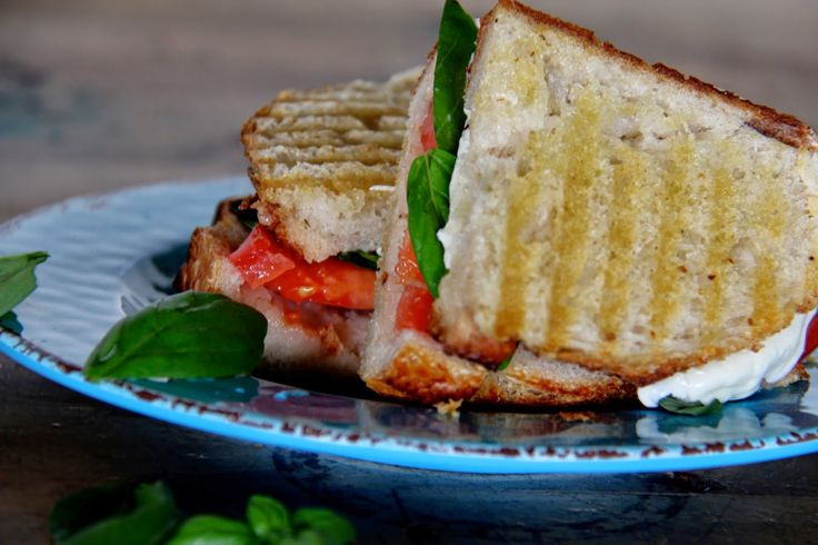 Panini With Zucchini, Summer Squash & Basil Recipes — Dishmaps