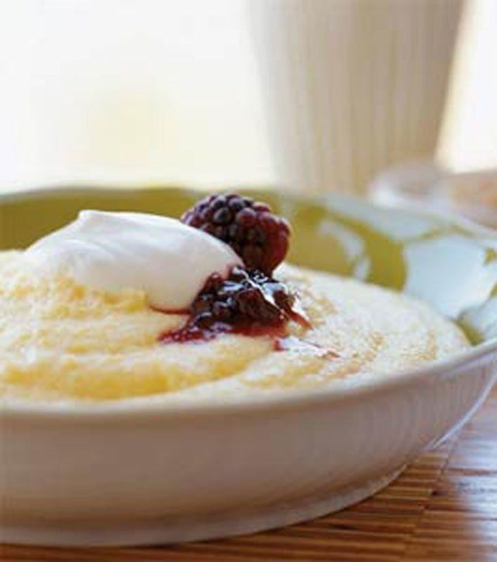 Creamy Breakfast Polenta