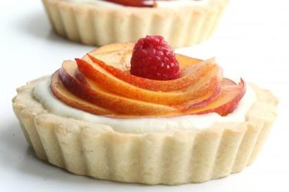 More like this: nectarines , mascarpone and tarts .