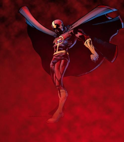 Red Tornado | comic art work--DC Comics | Pinterest
