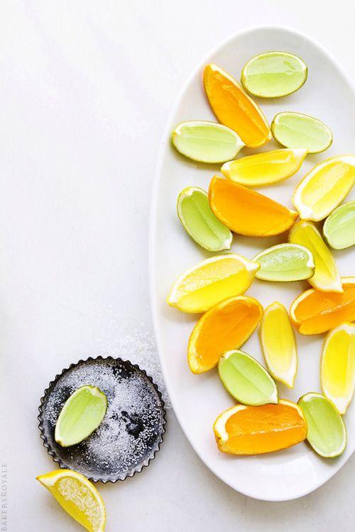Cadillac Margarita Jell-o shots | Food Styling | Pinterest