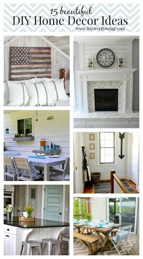 do it yourself decorating projects