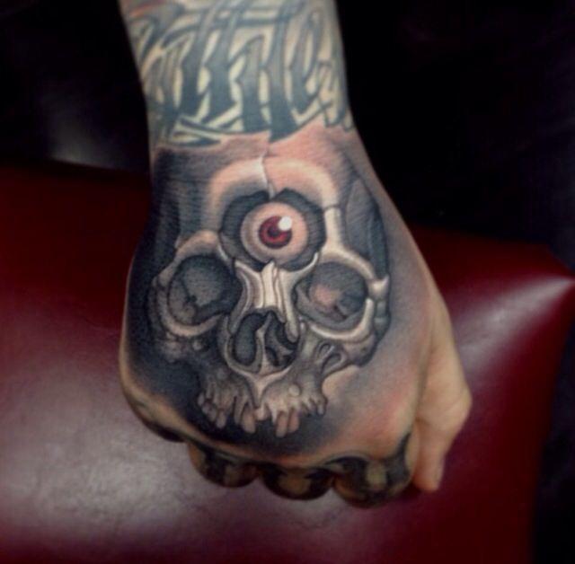 Timmy b skull tattoo the image kid has it for Timmy c tattoo