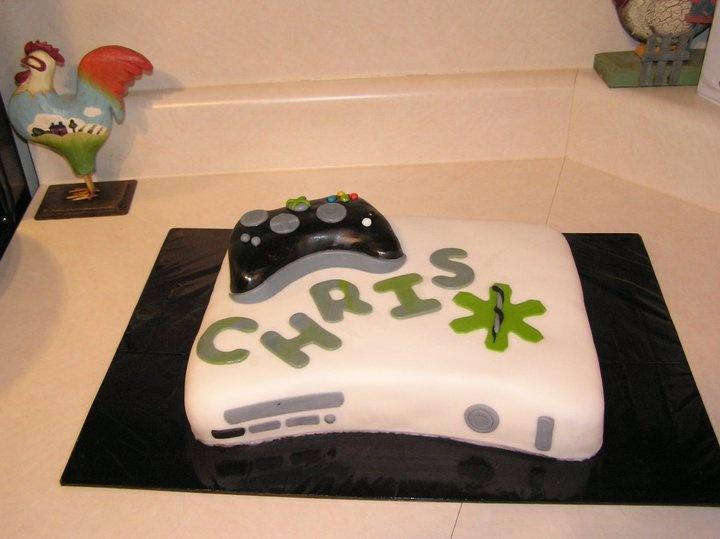 Xbox Cake  Xbox / Halo Birthday Party Planning  Pinterest