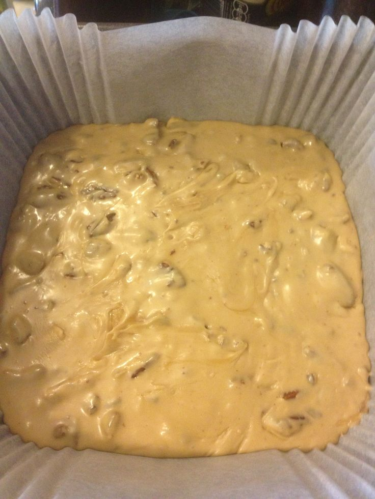 Maple & pecan fudge :) | Home-made Goodies | Pinterest