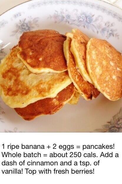 Banana berries cinnamon pancakes | Breakfast anyone !! | Pinterest