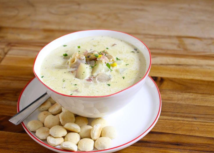 Recipe for New England clam and corn chowder - The Boston Globe